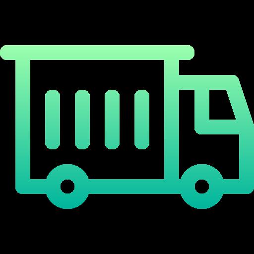 Cargo truck  free icon