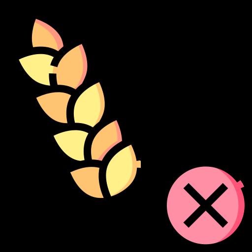 Gluten free  free icon