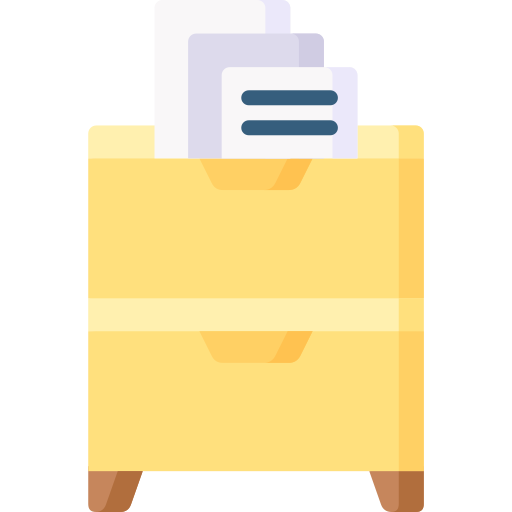 Filing cabinet  free icon