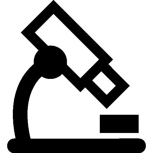 microscope de cours de biologie  Icône gratuit