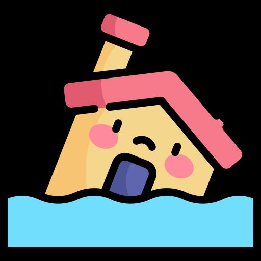 inundar  grátis ícone