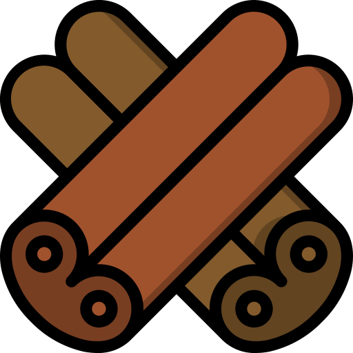 canela  grátis ícone