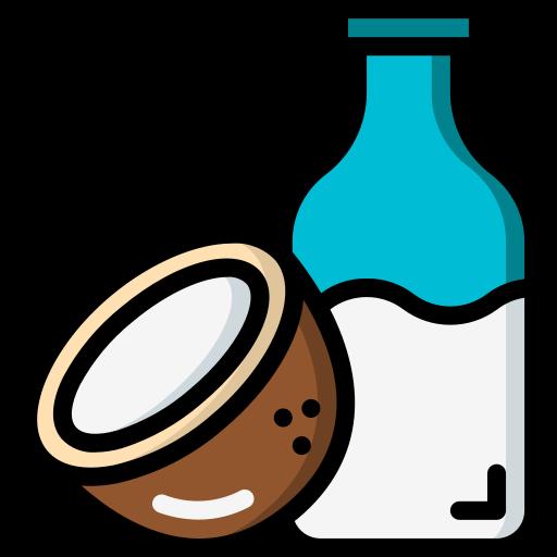 leite de côco  grátis ícone