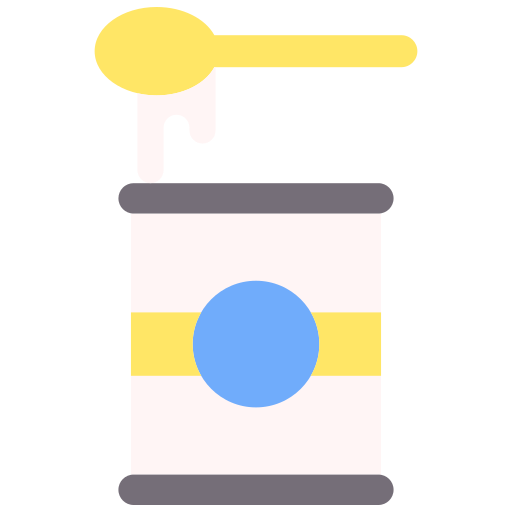 Condensed milk  free icon