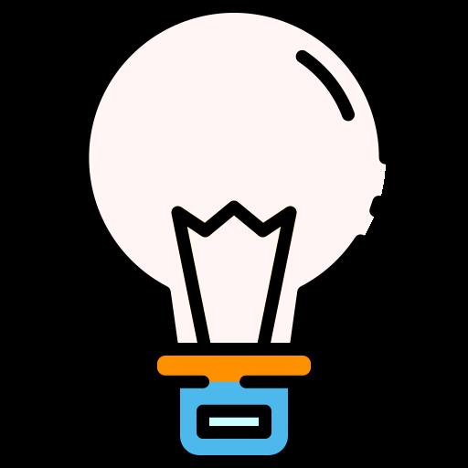 die glühbirne  kostenlos Icon