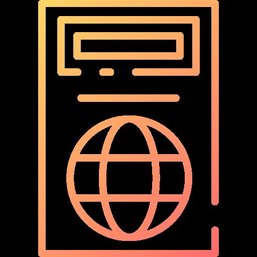 passeport  Icône gratuit