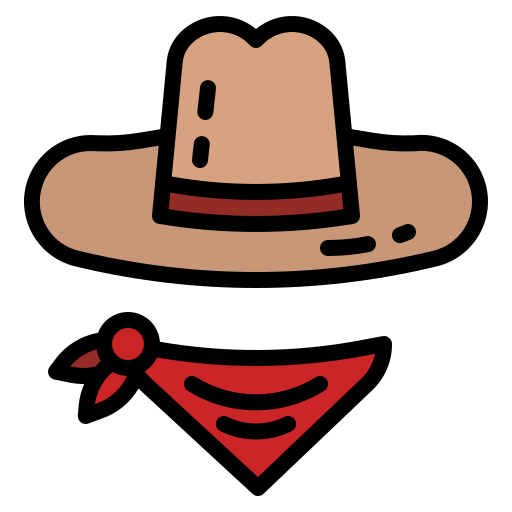 Cowboy  free icon
