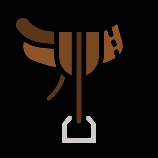 Horse saddle  free icon