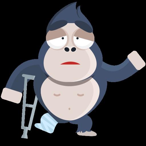 lesión  gratis sticker