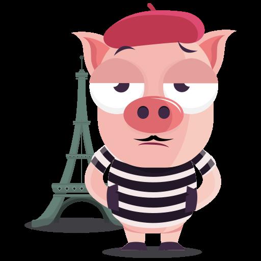 francés  gratis sticker