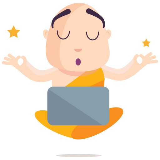 meditación  gratis sticker