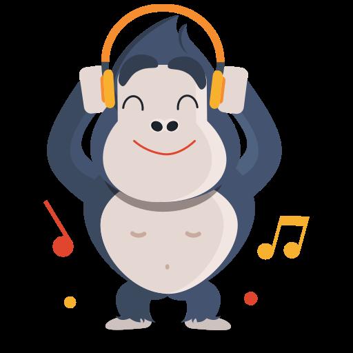 música  gratis sticker