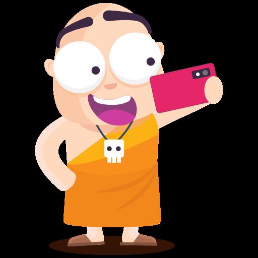 selfie  gratis sticker