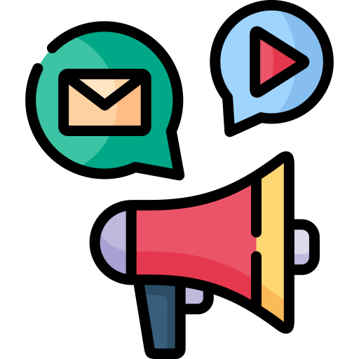 Content marketing  free icon