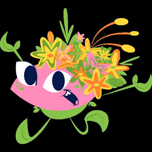 flores  gratis sticker