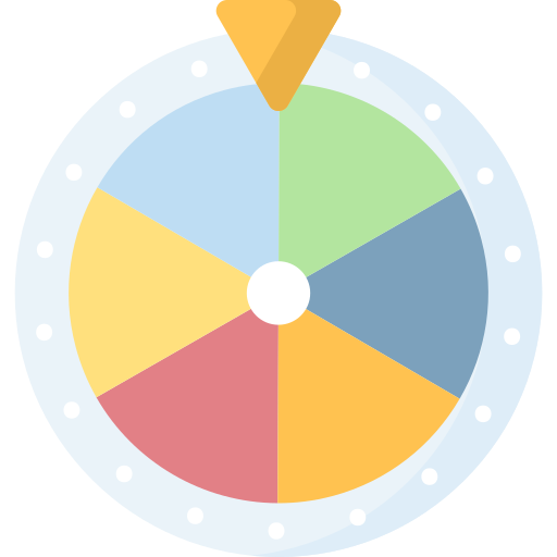 Wheel of fortune  free icon