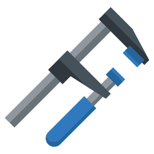 Clamp  free icon