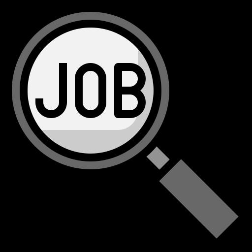 recherche d'emploi  Icône gratuit