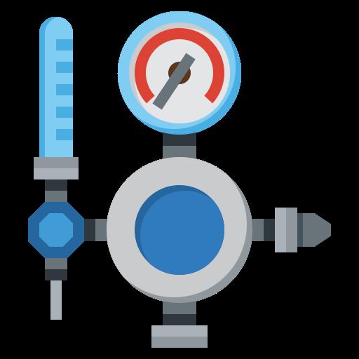 Pressure gauge  free icon