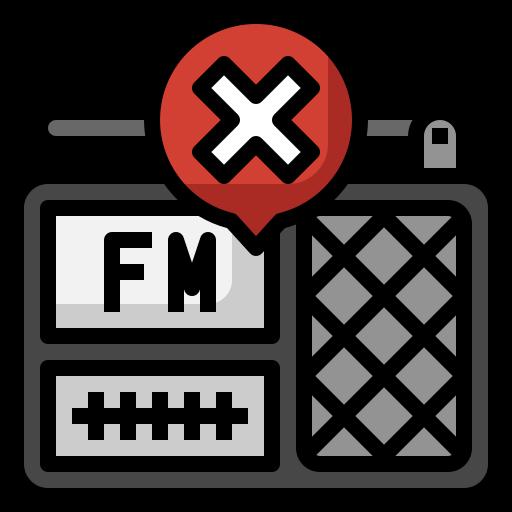 radio  Icône gratuit