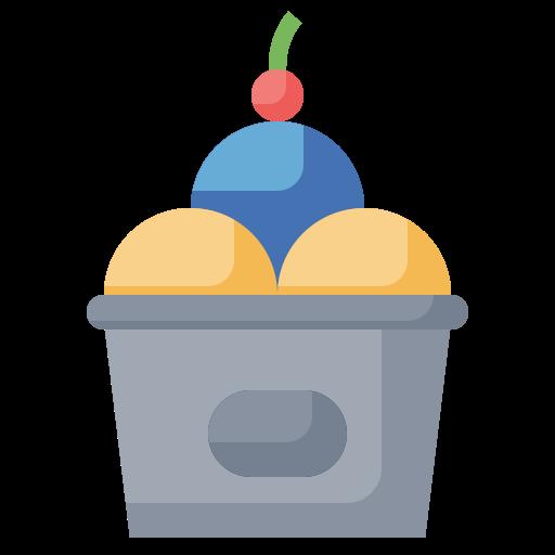 Ice cream  free icon