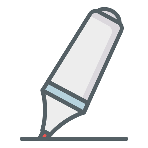 Highlighter  free icon