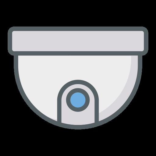 câmera de segurança  grátis ícone