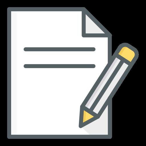 escreva  grátis ícone