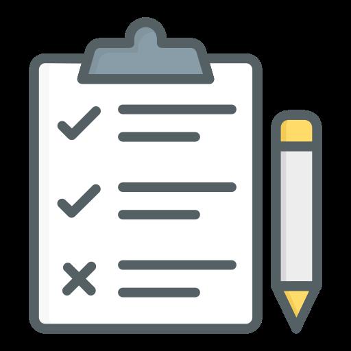 lista de controle  grátis ícone