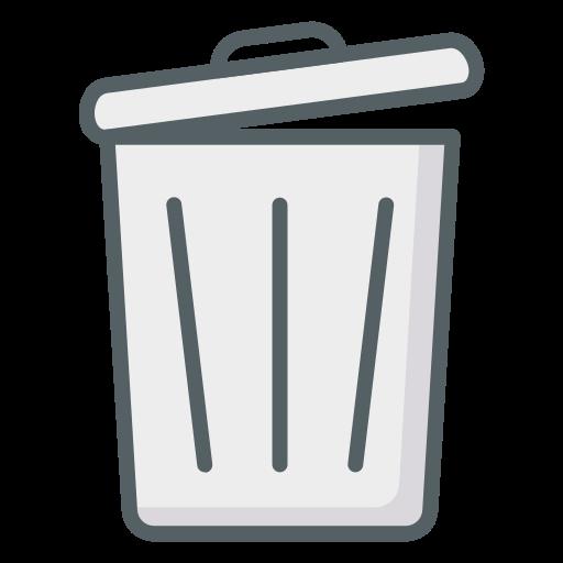 Мусорный ящик  бесплатно иконка