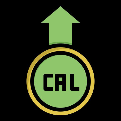 calorie  Icône gratuit