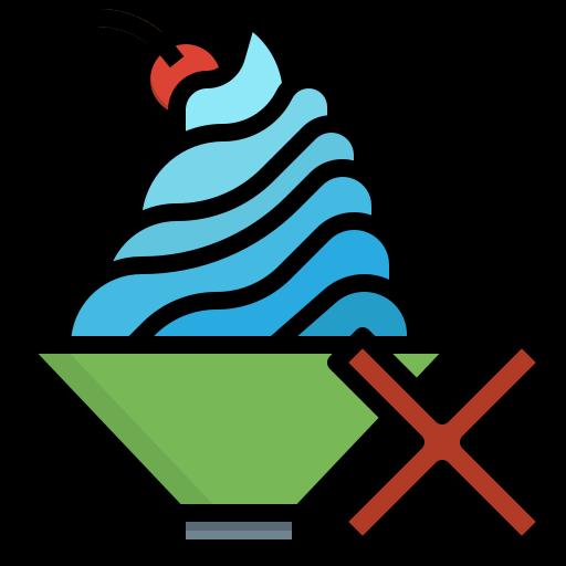crème fouettée  Icône gratuit