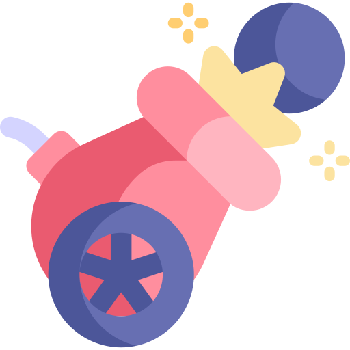 Cannon  free icon