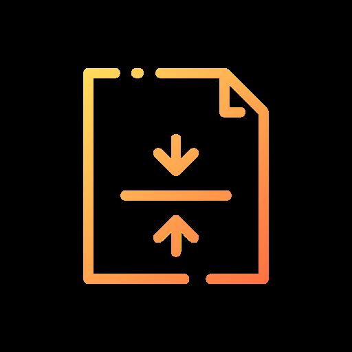 Center alignment  free icon