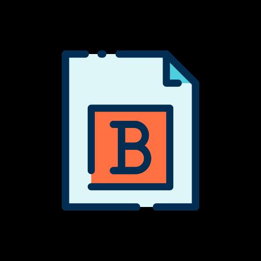 fett gedruckt  kostenlos Icon