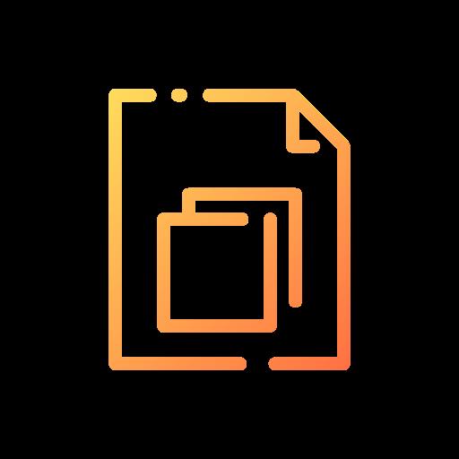 copie  Icône gratuit