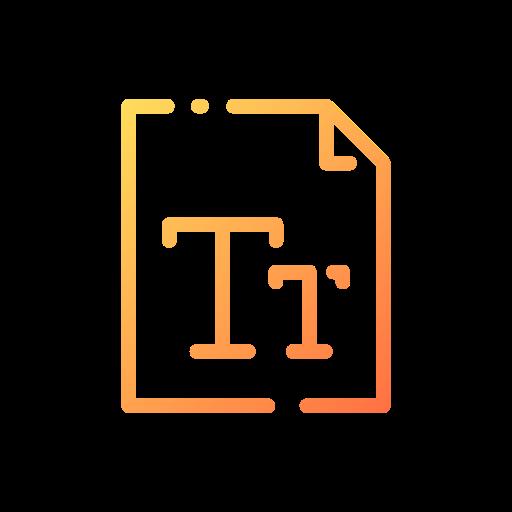 Font  free icon