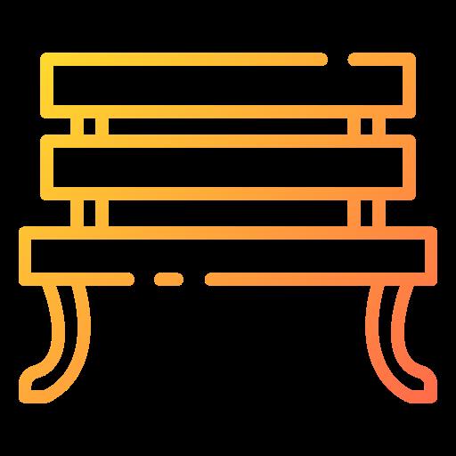 Bench  free icon