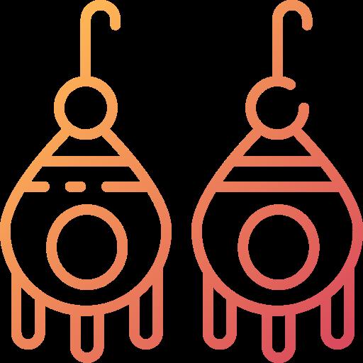 Earrings  free icon