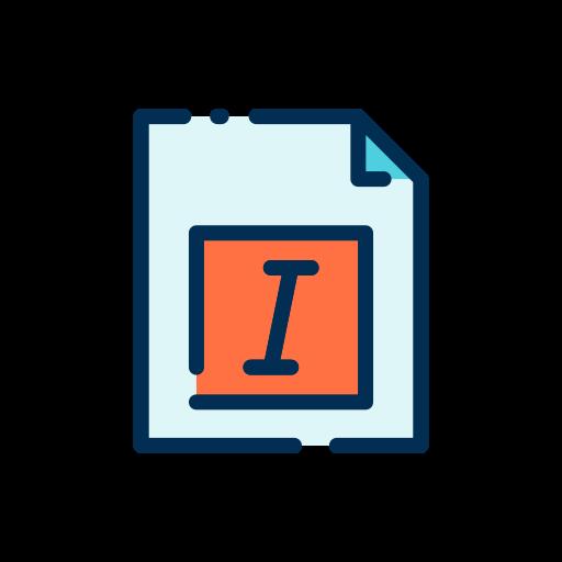 kursiv  kostenlos Icon