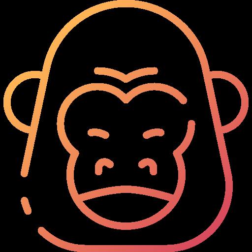 gorille  Icône gratuit