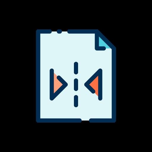 horizontal spiegeln  kostenlos Icon
