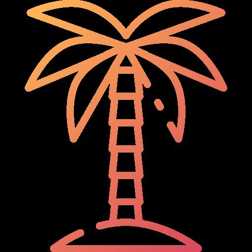 Palm tree  free icon
