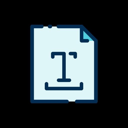 textbreite  kostenlos Icon