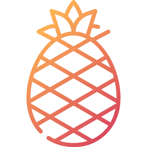 l'ananas  Icône gratuit