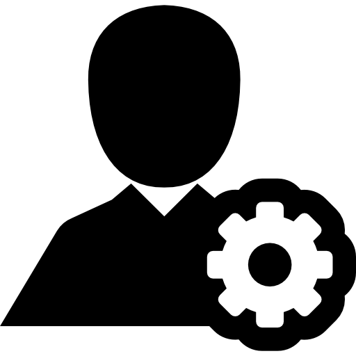 Personal configuration interface symbol  free icon