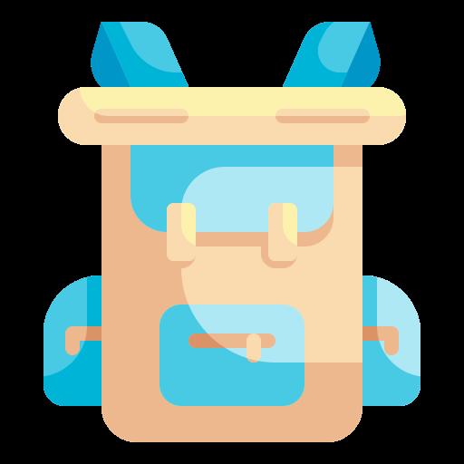 mochila  icono gratis