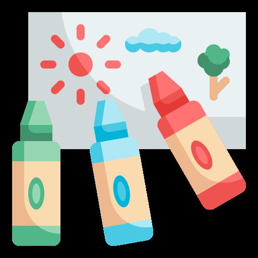 crayons  Icône gratuit