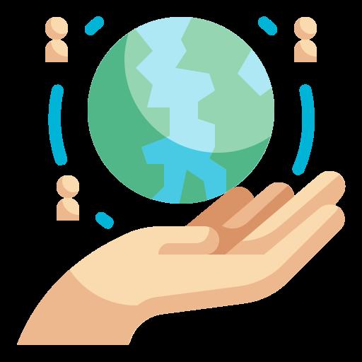 journée mondiale de l'humanitaire  Icône gratuit