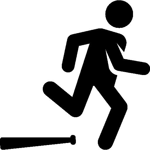 Home run  free icon